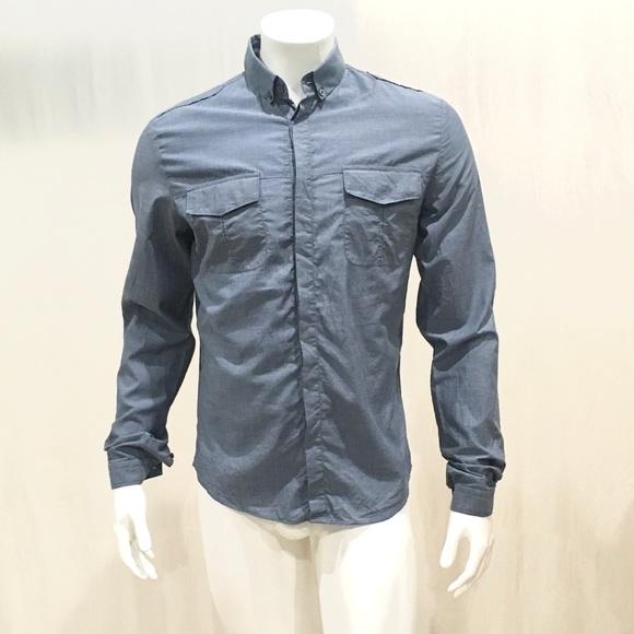 15c066be194a Gucci Shirts | Duke Mens Blue Oxford Dress Shirt | Poshmark